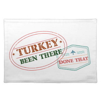 Turkey Been There Done That Placemat