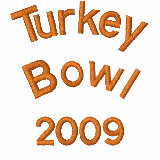 Turkey Bowl 2009 - Customized