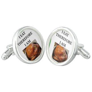 turkey cuff links
