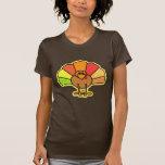 Turkey Cute Cartoon Thanksgiving Design Shirt