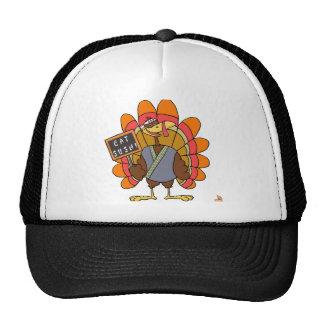 Turkey day Eat Sushi Mesh Hat