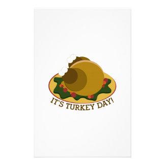 Turkey Day Stationery