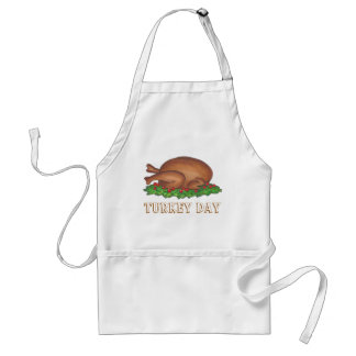 Turkey Day Thanksgiving Dinner Apron