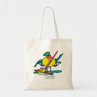 Turkey Divas - funny cartoon thanksgiving bags