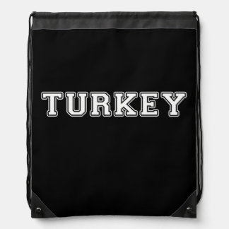 Turkey Drawstring Bag