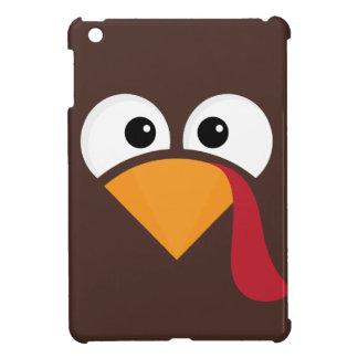 Turkey Face Heart Thanksgiving iPad Mini Case