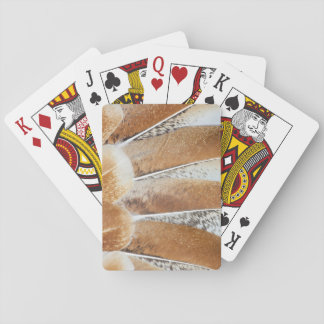Turkey Feather Fanned Design Playing Cards