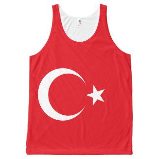 Turkey Flag All-Over Print Singlet