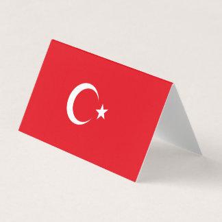 Turkey Flag Business Card