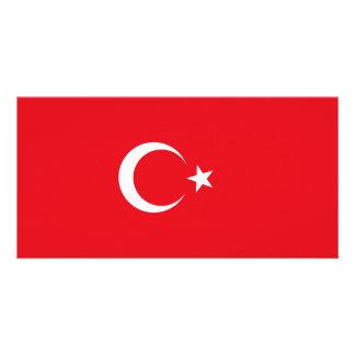 Turkey Flag Card