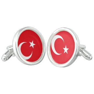 Turkey Flag Cuff Links