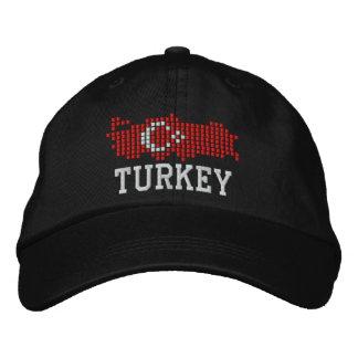 Turkey Flag Embroidered Cap
