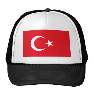 Turkey Flag Mesh Hats