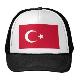 Turkey Flag Trucker Hats