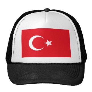 turkey flag mesh hat