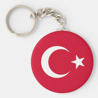 Turkey Flag Key Ring