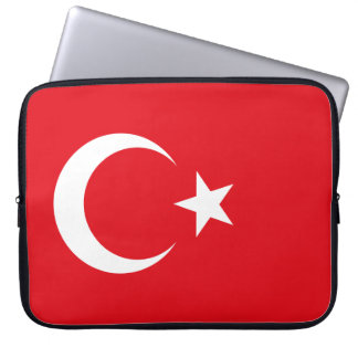 Turkey Flag Laptop Sleeve