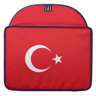 Turkey Flag MacBook Pro Sleeves