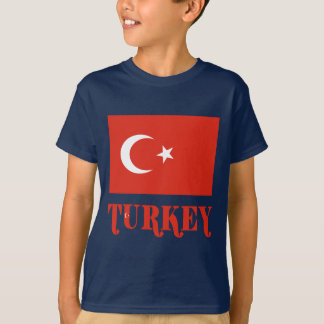 Turkey Flag & Name T-Shirt