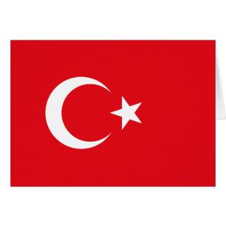 Turkey Flag Note Card