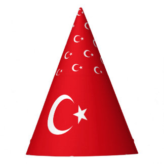 Turkey Flag Party Hat