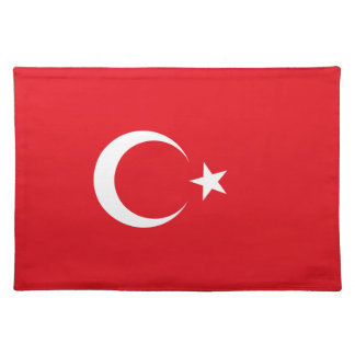 Turkey Flag Placemat