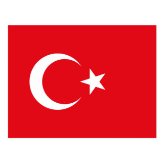 Turkey Flag Postcard
