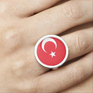 Turkey flag ring