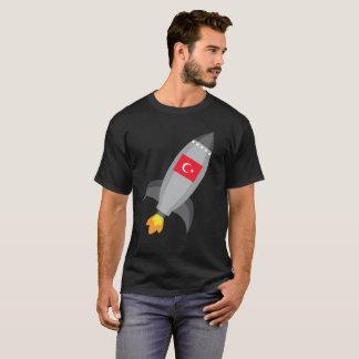 Turkey Flag Rocket Ship T-Shirt