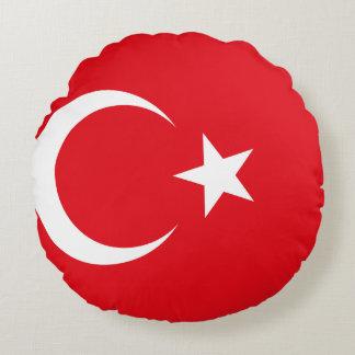 Turkey Flag Round Cushion