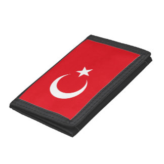 Turkey Flag Tri-fold Wallet