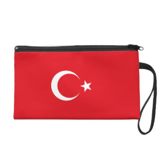 Turkey Flag Wristlet Purse