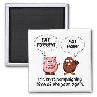 Turkey & Ham magnet