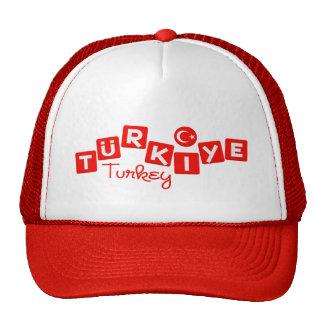 TURKEY hat - customize
