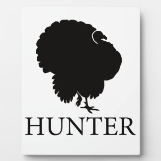Turkey Hunter Plaque