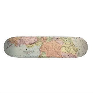 Turkey in Asia 6 21.3 Cm Mini Skateboard Deck