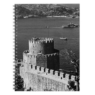 Turkey Istanbul Bosphorus fortress 1970 Notebooks