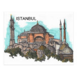 Turkey Istanbul Hagia Sophia (by St.K) Post Card