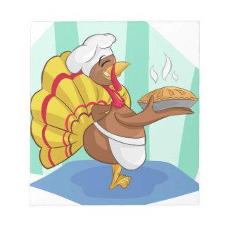 turkey notepad