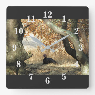 Turkey Paradise Wall Clock
