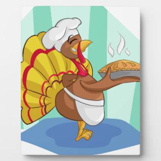turkey plaque