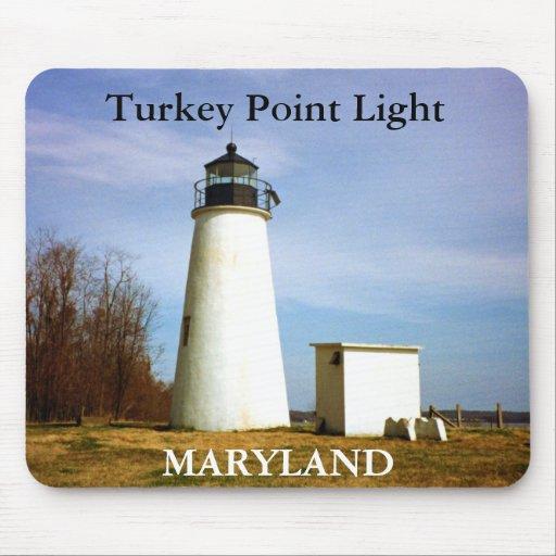 Turkey Point Light, Maryland Mousepad
