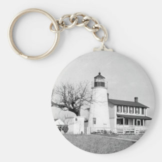 Turkey Point Lighthouse Key Ring