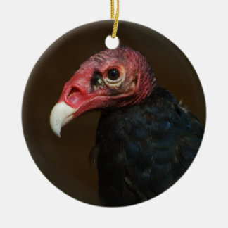 Turkey Vulture Ceramic Ornament