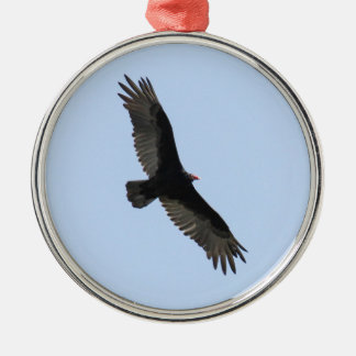Turkey Vulture Metal Ornament
