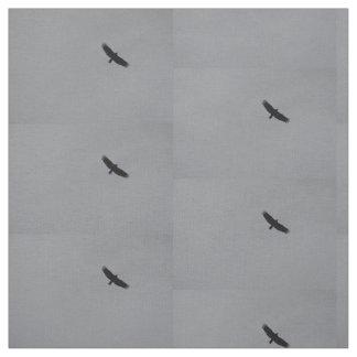 Turkey vulture photo fabric