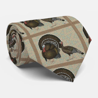 Turkeys Standard Bronze Portrait Tie