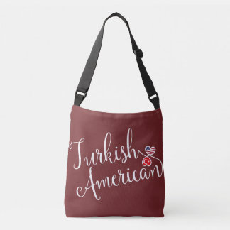 Turkish American Entwined Hearts Bag