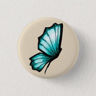 Turkish butterfly 3 cm round badge