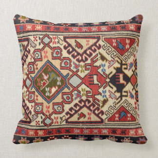 Turkish Carpet #1 Throw Pillow
